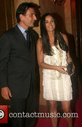 Demi Moore and guest Van Cleef & Arpels...