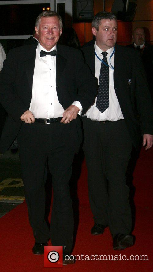 Alex Furgusson and guest Unicef gala dinner 07...