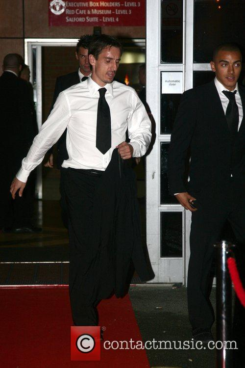 Gary Neville Unicef gala dinner 07 at Old...