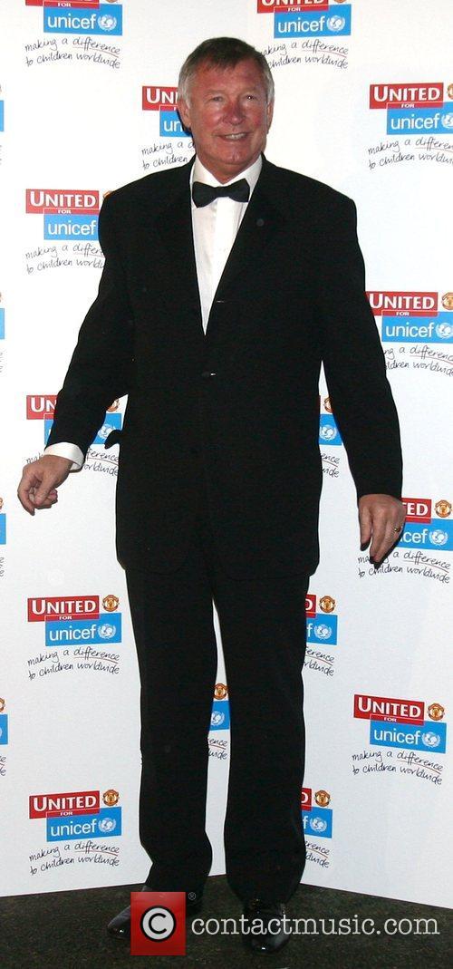 UNICEF Gala dinner held at Old Trafford Football...