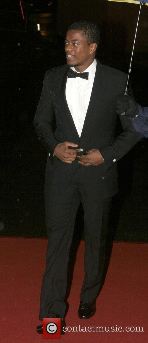 Patrice Evra UNICEF Gala dinner held at Old...