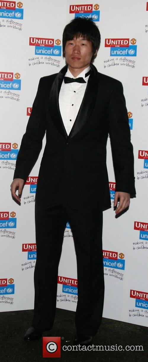 Ji-sung Park UNICEF Gala dinner held at Old...