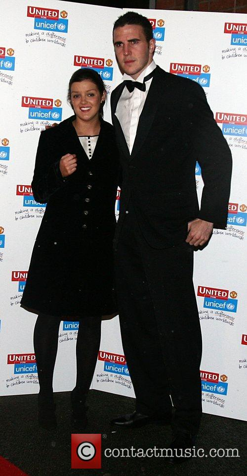 John O'Shea and guest UNICEF Gala dinner held...