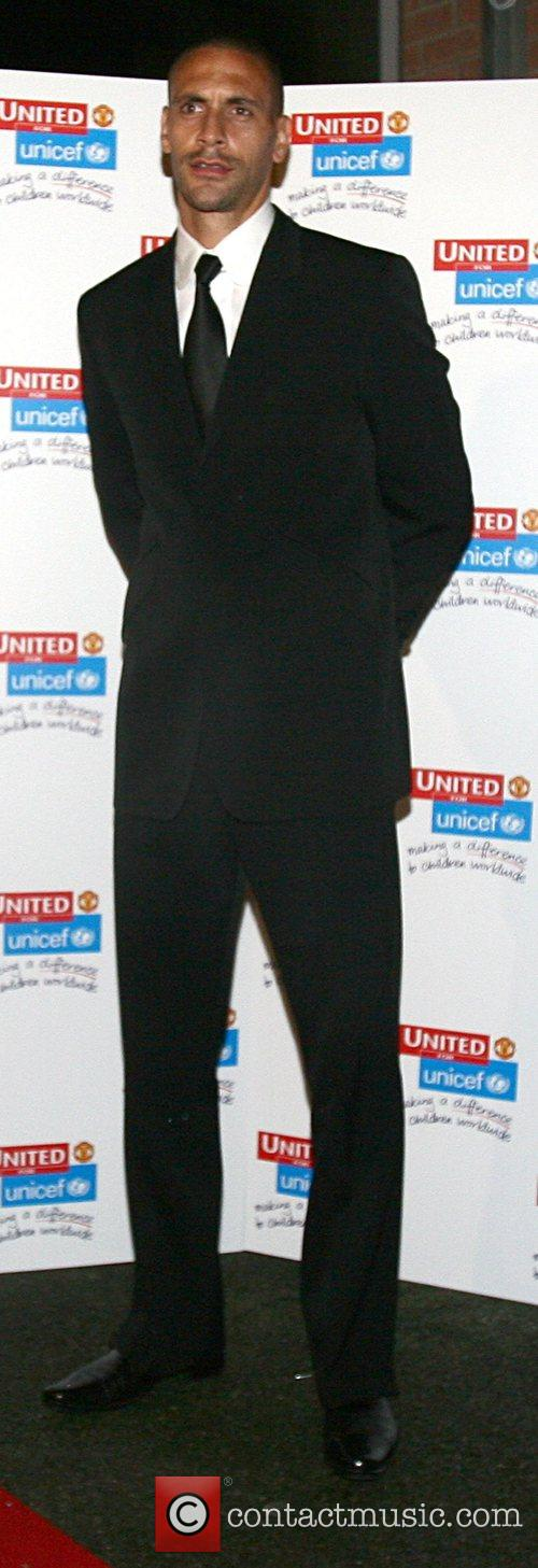 Rio Ferdinand UNICEF Gala dinner held at Old...