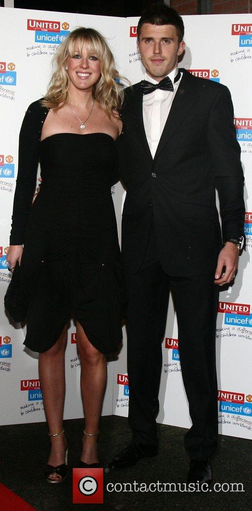 Michal Carrick and Lisa Roughead  UNICEF Gala...