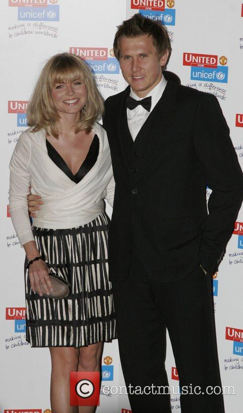 Tomasz Kuszczak and guest UNICEF Gala dinner held...