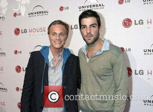 David Anders and Zachary Quinto Universal Media Studios...