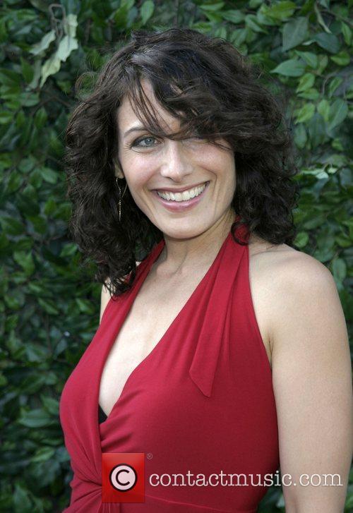 Lisa Edelstein Universal Media Studios Emmy Party at...