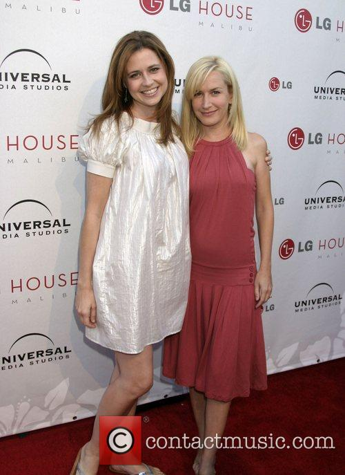 Jenna Fisher and Angela Kinsey Universal Media Studios...