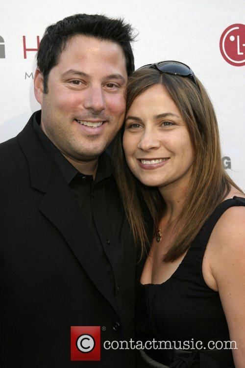 Greg Grunberg and wife Elizabeth Dawn Wershow Universal...