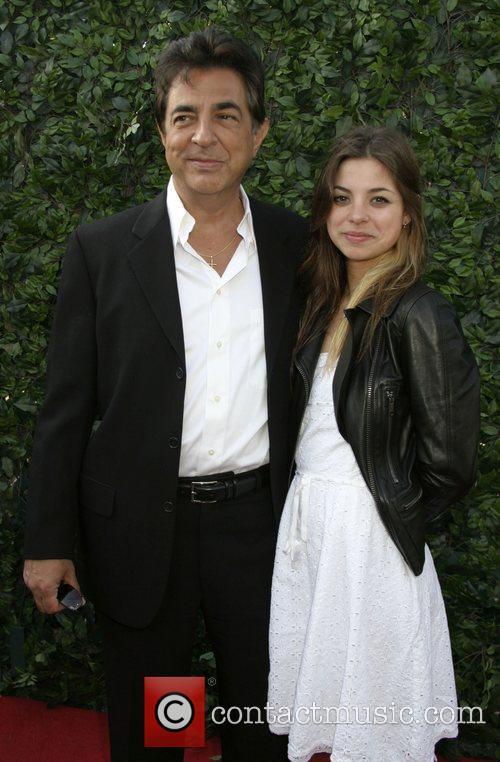 Joe Mantegna and daughter Gina Universal Media Studios...