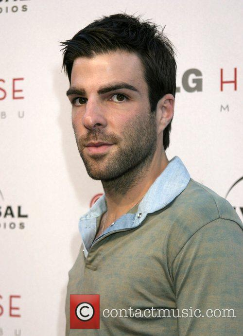 Zachary Quinto Universal Media Studios Emmy Party at...