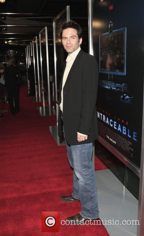 Arrivals - 'Untraceable' Premiere at the Silver Screen...