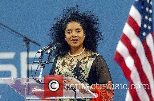 Phylicia Rashad US Open 2007 - Day One...