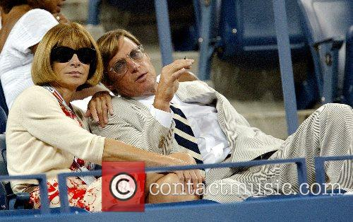Anna Wintour US Open 2007 - Day One...