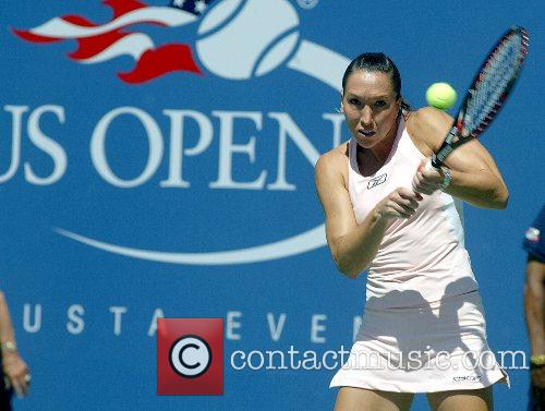 Jelena Jankovic US Open 2007 - Day One...