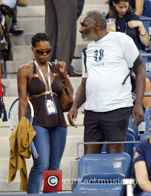 Venus Williams and Richard Williams 3
