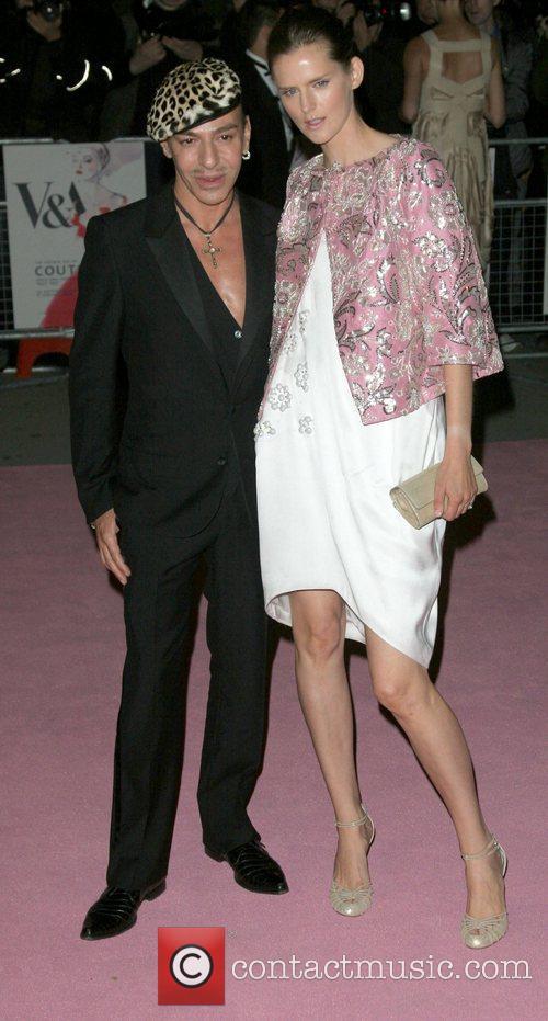 John Galliano and Stella Tennant 1