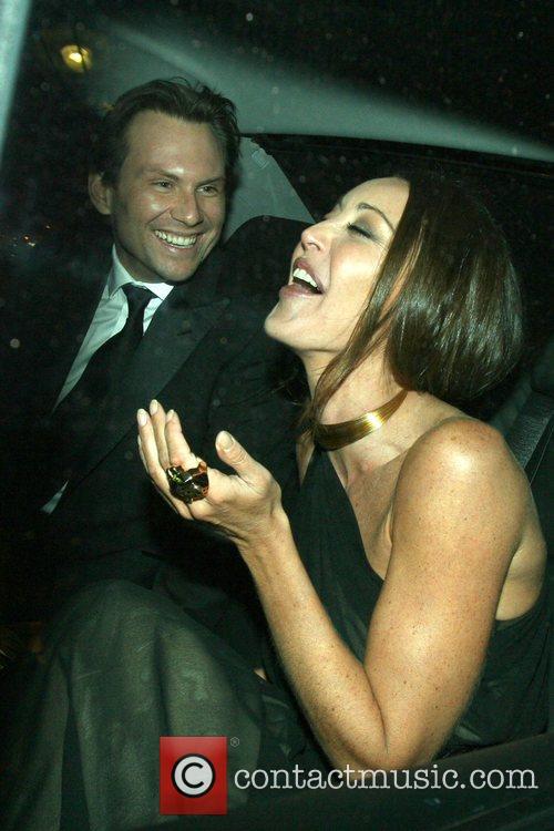 Christian Slater and Tamara Mellon 1