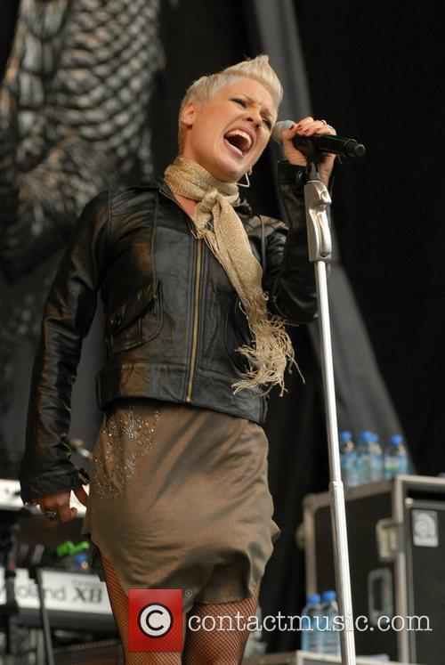 Pink (aka Alecia Moore) performs at V Festival...