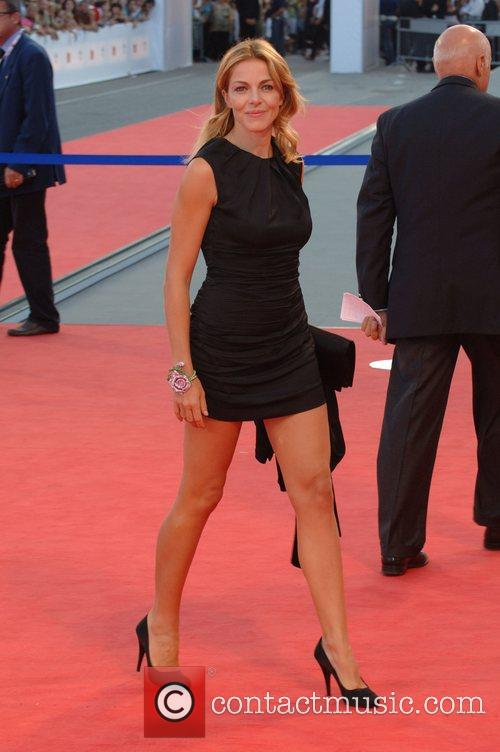Claudia Gerini  64th Venice Film Festival -...