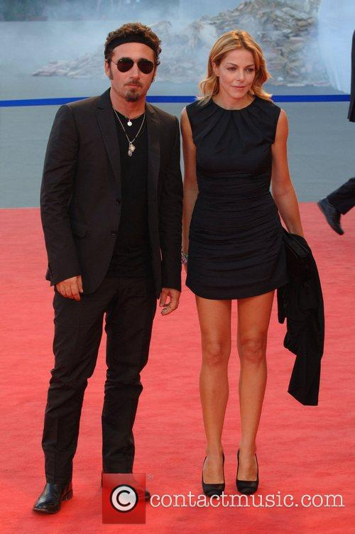 Federico Zampglione and Claudia Gerini 64th Venice Film...