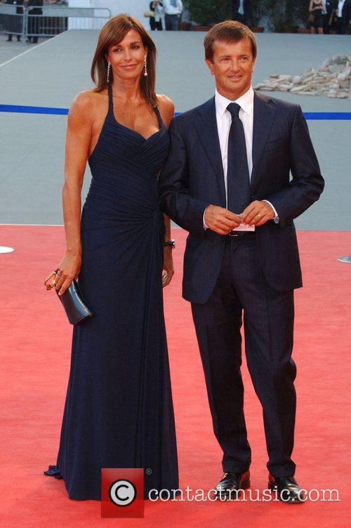 Cristina Parodi and guest 64th Venice Film Festival...