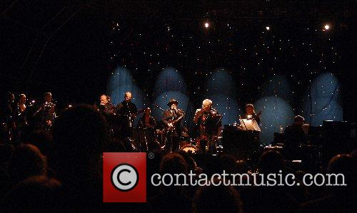 Van Morrison performs live at Bowood House in...