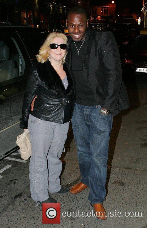 Vanessa Feltz and Ben Ofoedu  arriving at...