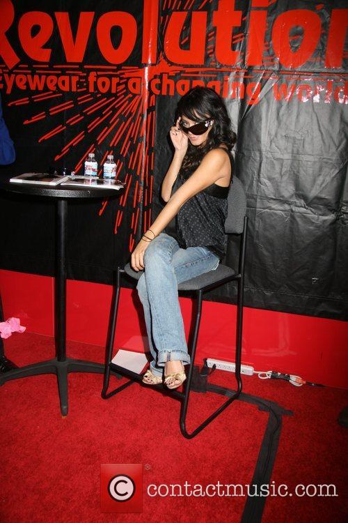 Vanessa Hudgens International Vision Expo West Revolution Eyewear...