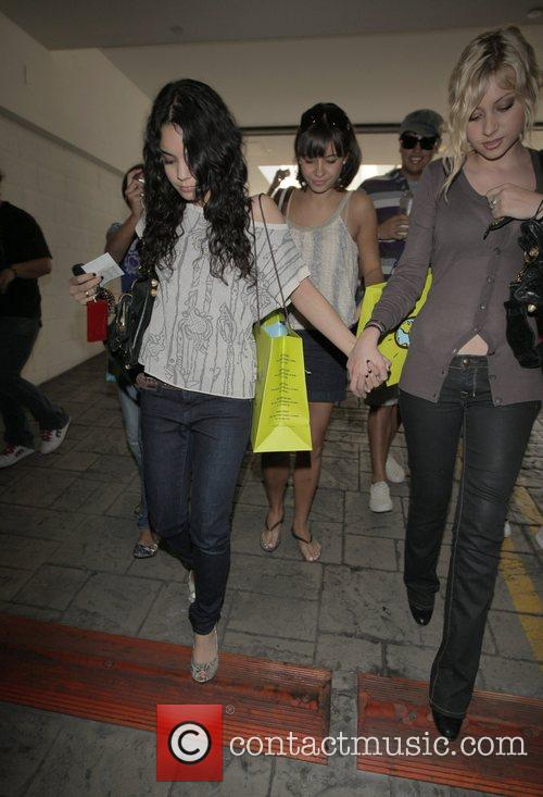 Vanessa Hudgens  out shopping with a friend...