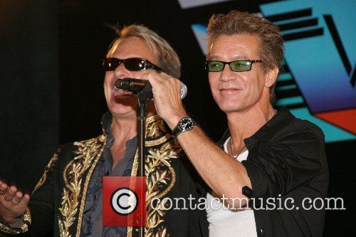 David Lee Roth and Eddie Van Halen Van...