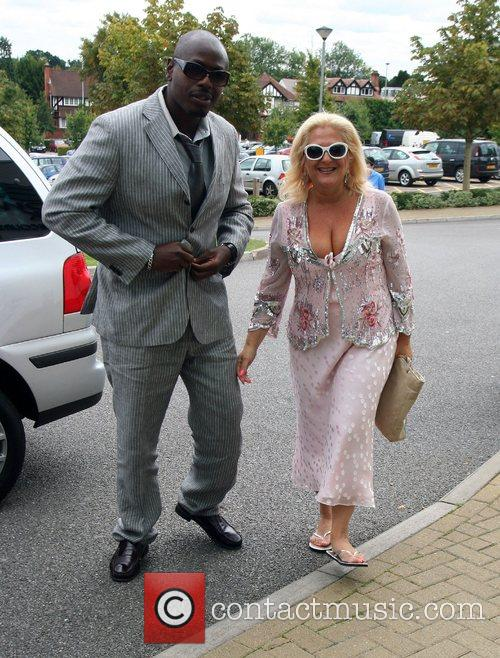 Ben Ofoedu and Vanessa Feltz The Sandown Variety...
