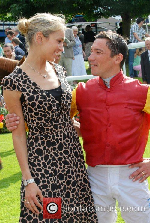Lady Isabella Hervey and Jockey Variety club day...