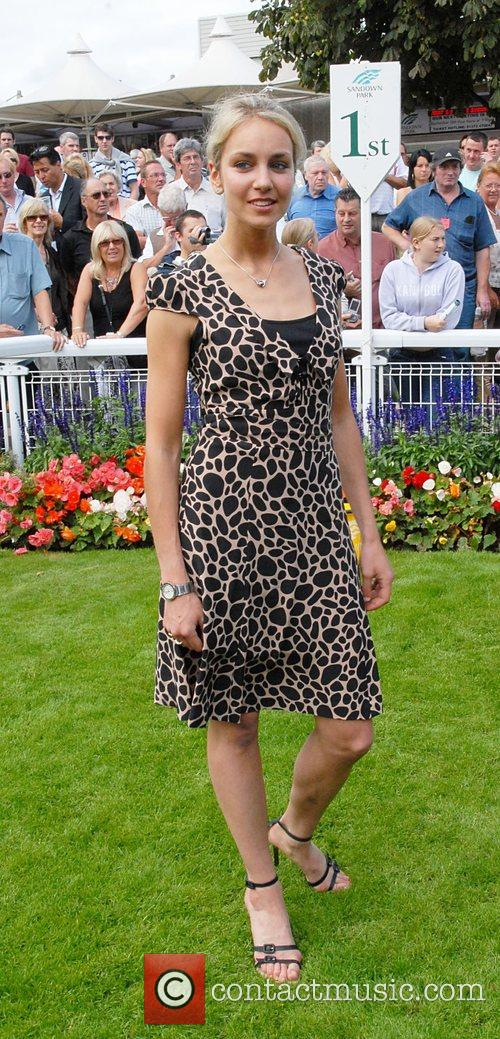 Lady Isabella Hervey Variety club day at Sandown...