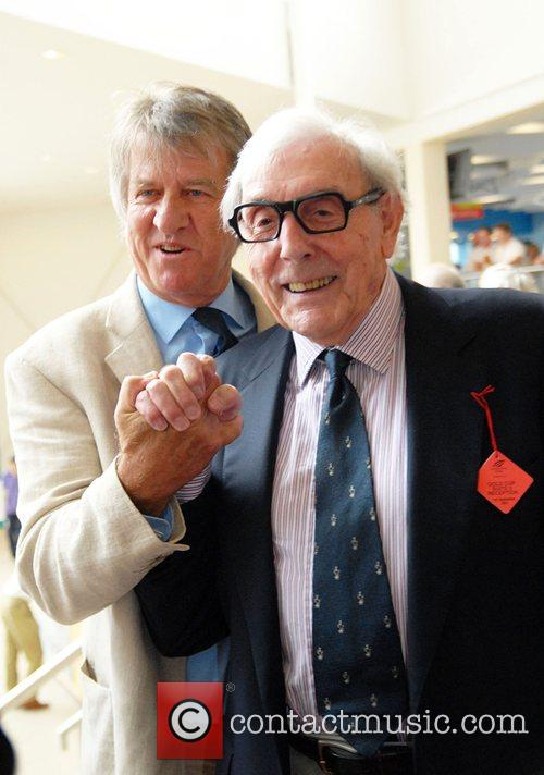 Eric Sykes and Ed Stewart Variety club day...