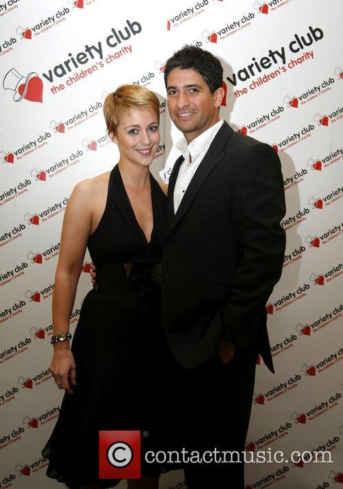 Miranda Raison and Raza Jaffrey