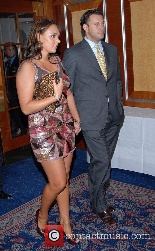 Tamara Ecclestone and guest Variety Club Sporting Awards...