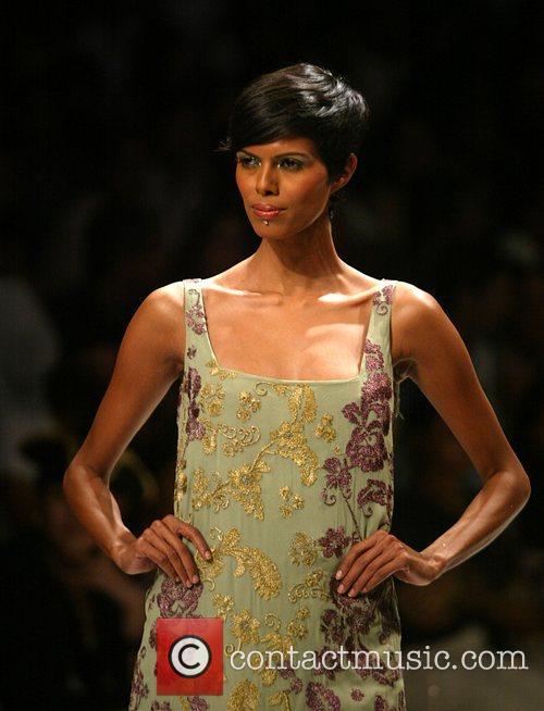 Varun Bahl catwalk show, Spring/Summer 2008 Wills India...