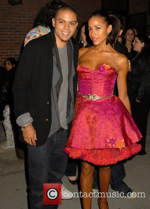 Evan Ross and Dania Ramirez 1
