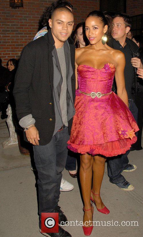 Evan Ross and Dania Ramirez 2