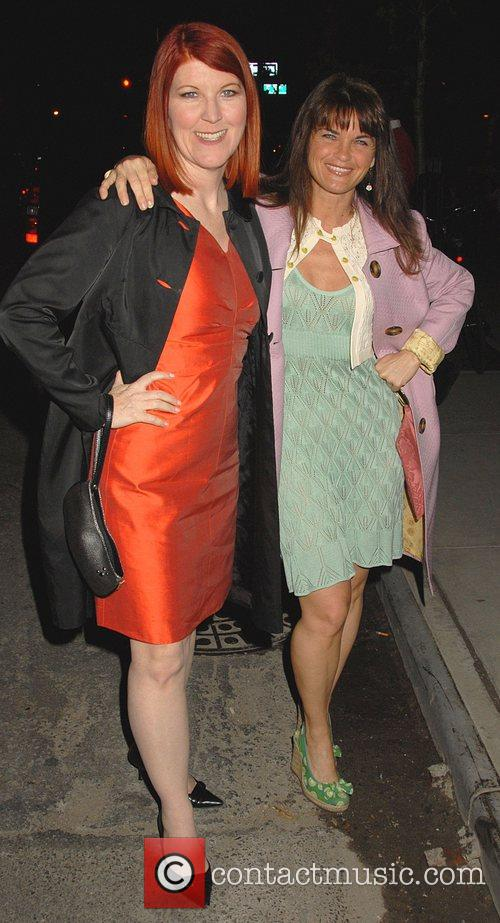 Kate Flannery and Guest Entertainment Weekly and Vavoom...