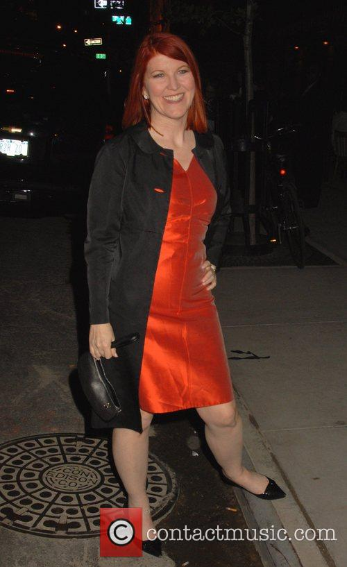 Kate Flannery Entertainment Weekly and Vavoom host the...