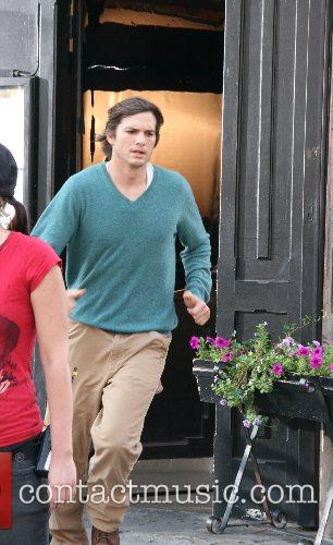 Ashton Kutcher and Cher 11