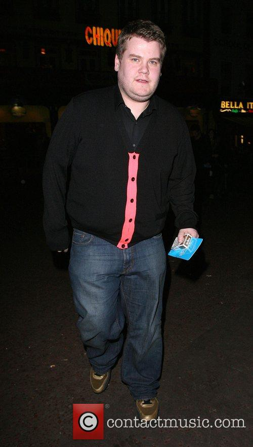 James Corden arrives at the afterparty for 'What...