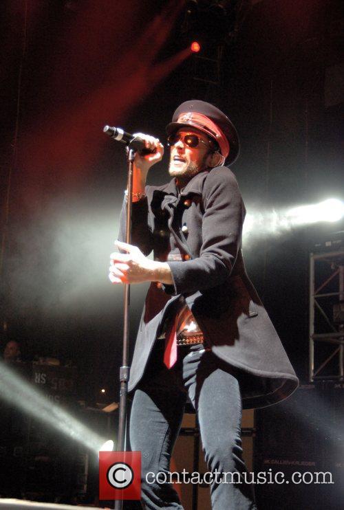 Performing live at the Santa Barbara Bowl