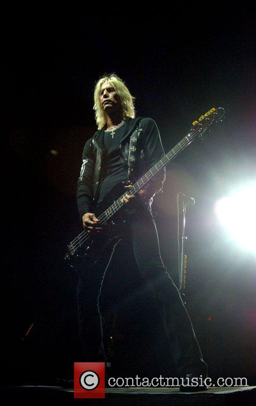 Duff McKagan from Velvet Revolver Performing live at...