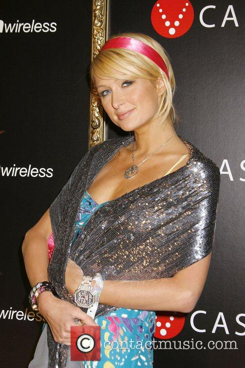 Paris Hilton Verizon Wireless And People Magazine event...