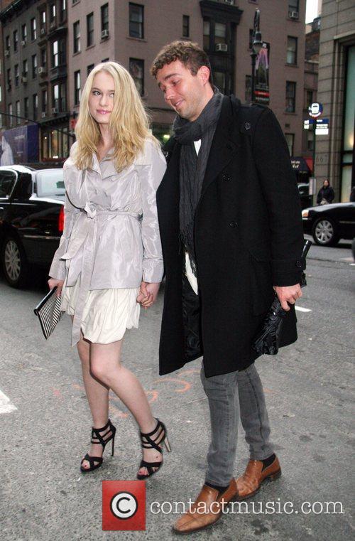 Leven Ramblin and boyfriend Versace Men's Line Launch...