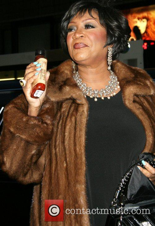 Patti LaBelle with a bottle of her own...